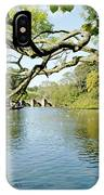 Bakewell Riverside - Through The Branches IPhone Case