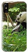 Bamboo Is Tasty IPhone Case