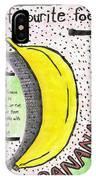 Banana IPhone X Case