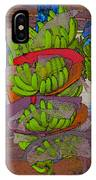 Banana Harvest IPhone Case