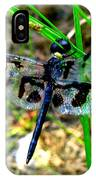 Banded Pennant Dragonfly IPhone Case