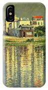 Banks Of The Seine At Argenteuil IPhone Case
