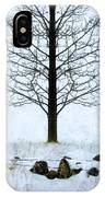 Bare Tree In Winter IPhone Case