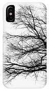 Bare Tree Silhouette IPhone X Case