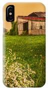 Barn On Rt. 134 Highland Co IPhone Case