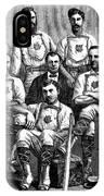 Baseball: Canada, 1874 IPhone Case