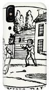 Baseball Game, 1820 IPhone Case