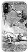 Baseball Game, 1885 IPhone Case