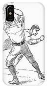 Baseball Players, 1889 IPhone Case