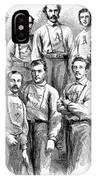 Baseball Teams, 1866 IPhone Case