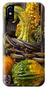 Basket Full Of Gourds IPhone Case