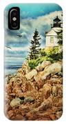 Bass Harbor - Acadia Np IPhone Case