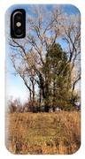 Bass Pond Trees 2012 IPhone Case