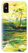 Bathed In Golden Light IPhone Case