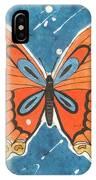Batik Butterfly IPhone Case