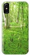 Baton Rouge Blueonnet Swamp  La IPhone Case