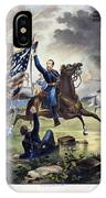 Battle Of Chantlly, 1862 IPhone Case