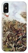 Battle Of Five Forks Virginia 1st April 1865 IPhone Case