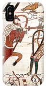 Battle Of Hastings Bayeux Tapestry IPhone Case