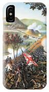 Battle Of Missionary Ridge IPhone Case