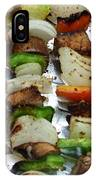 Bbq Grilled Vegetables IPhone Case