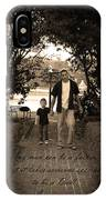 Be A Dad IPhone Case