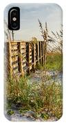 Beach Boardwalk IPhone Case