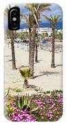 Beach In Puerto Banus IPhone Case