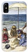 Beach Scene, 1879 IPhone Case
