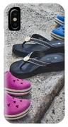 Beach Shoes IPhone Case