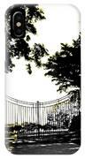 Beacon Rock Gate Newport Ri IPhone Case