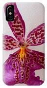 Beallara Marfitch - Howard's Dream - Orchid IPhone Case