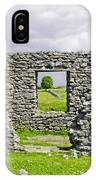 Beam Engine House Remains At Magpie Mine - Sheldon IPhone Case