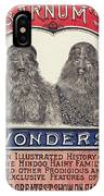 Bearded Family, 1887 IPhone Case