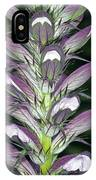 Bears Breeches (acanthus Spinosus) IPhone Case