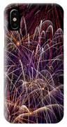 Beautiful Fireworks IPhone Case