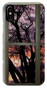 Beautiful Sunset Bay Window View IPhone Case