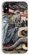 Beauty & The Beast, 1891 IPhone Case