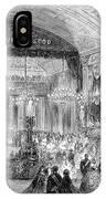 Beaux Arts Ball, 1861 IPhone Case