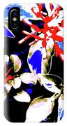 Bee Flowers 6 IPhone Case