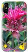 Beebalm Flower IPhone Case