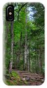 Beech Mountain Trail Acadia IPhone Case