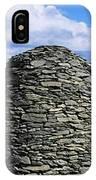Beehive Huts At The Coast, Skellig IPhone Case