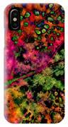 Begonia Leaf On Acid IPhone Case
