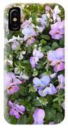 Begonias In Bloom IPhone Case