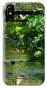 Below The Bridge Is Another World IPhone Case