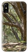 Bench And Tree In Cambria II IPhone Case