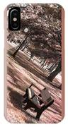 Bench In The Park Triptych  IPhone Case
