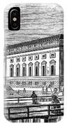 Berlin: Opera House, 1843 IPhone Case