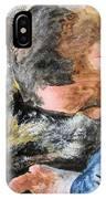 Best Friends-watercolor Study IPhone Case
